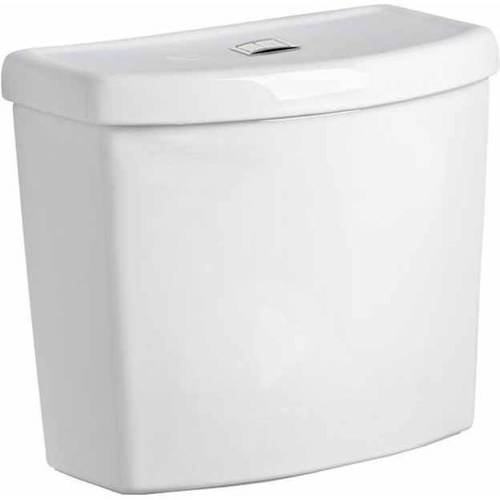 """American Standard 4000.204.020 Studio Dual-Flush Tank with 12"""" Rough-In, White"""