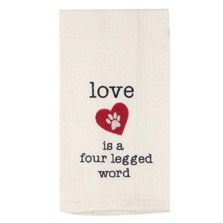 - Love Dog Flour Sack Towel