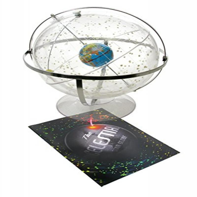 American Educational 300 Transparent Celestial Globe, 12 Diameter