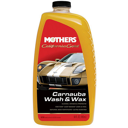 Mothers California Gold Carnauba Wash and Wax, 64 oz