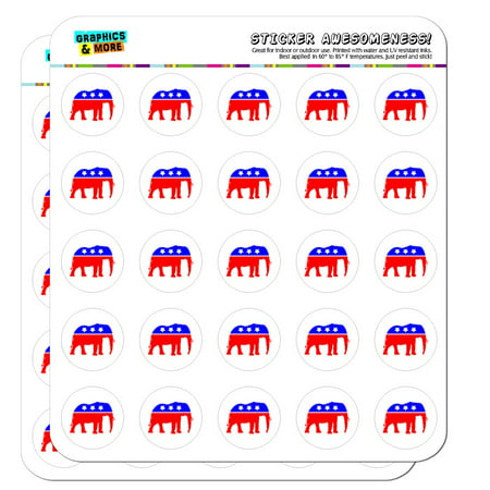 Republican Elephant GOP Conservative America Political Party 1