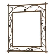 Stone County Ironworks  Branched Small Wall Mirror