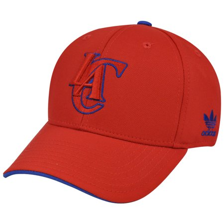 Flex Fit Pinstripe Hat - NBA TD71 Adidas Los Angeles Clippers Flex Fit Stretch S/M Constructed Hat Cap
