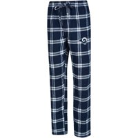 Los Angeles Rams Concepts Sport Big & Tall Homestretch Flannel Pants - Navy/White