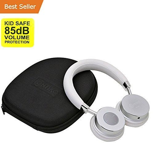 Bluetooth Headphones For Women, Contixo White Kids Headphones Wireless Bluetooth