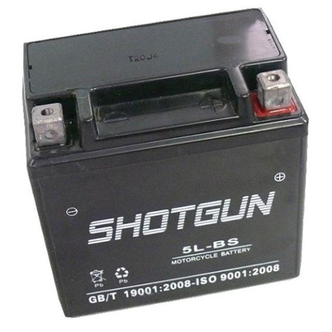 BatteryJack 5L-BS-Shotgun9 ATV Battery for Polaris Predator Outlaw Sportsman 50 80 90 YTX5L - BS GTX5L - BS