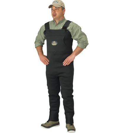 Caddis Men's Neoprene Stockingfoot Waders - Medium Green ()