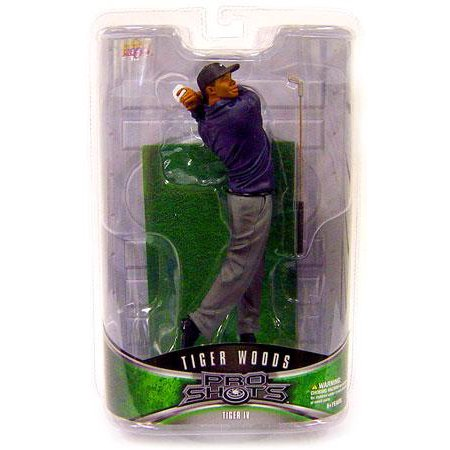 PGA Pro Shots Series 2 Tiger Woods Action Figure [Iron Shot Finish]