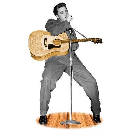 Advanced Graphics Hollywood Elvis Presley Life-Size Cardboard Stand-Up (Life Size Elvis)
