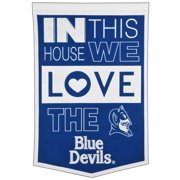 Duke Blue Devils 15'' x 24'' Home Banner - Blue/ White