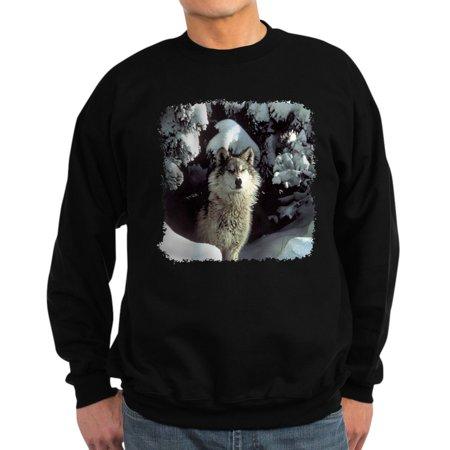 CafePress - Winter Wolf - Classic Crew Neck -