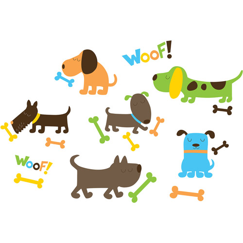 WallPops Puppy Love Decals