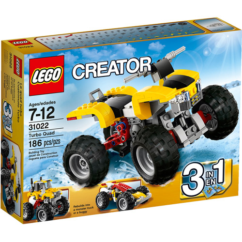 LEGO Creator Turbo Quad Building Set