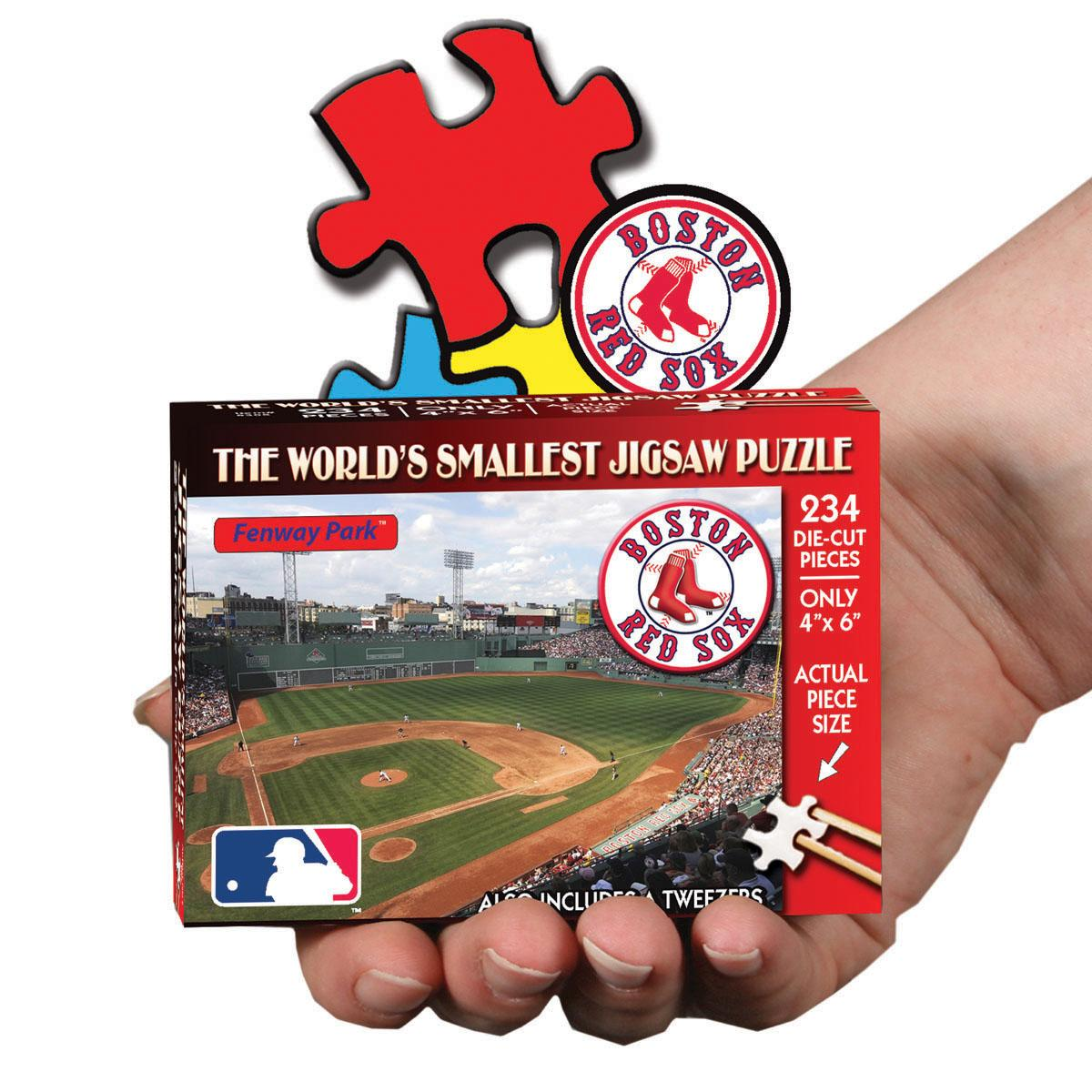 MLB World's Smallest Puzzle - Red Sox Boston Red Sox TDCBBBOSSM