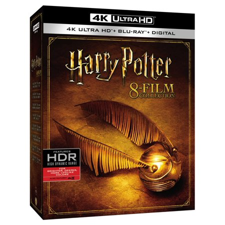 Harry Potter Collection (4K Ultra HD + Blu-ray + (Harry Potter Collection 8pk 4k Ultra Hd Digital)