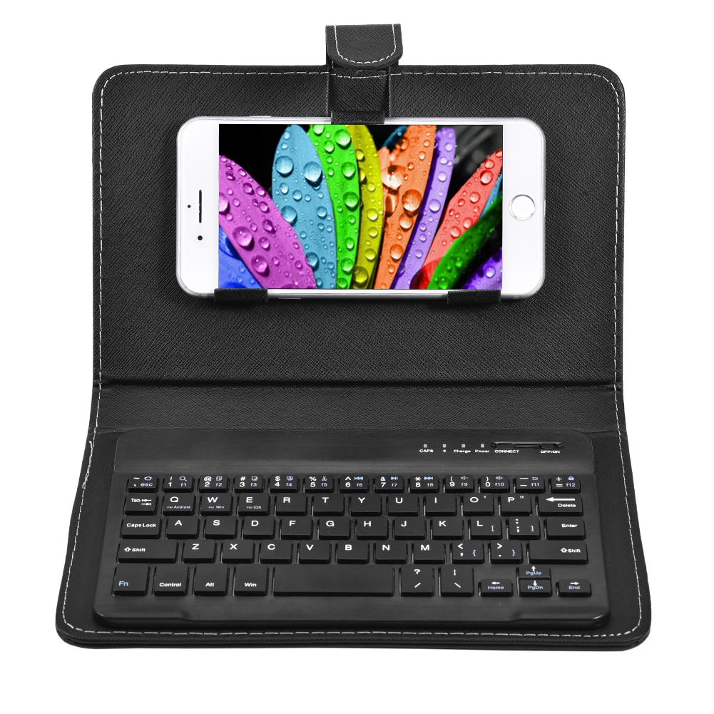 FAGINEY Universal Wireless Bluetooth Keyboard Flip Case