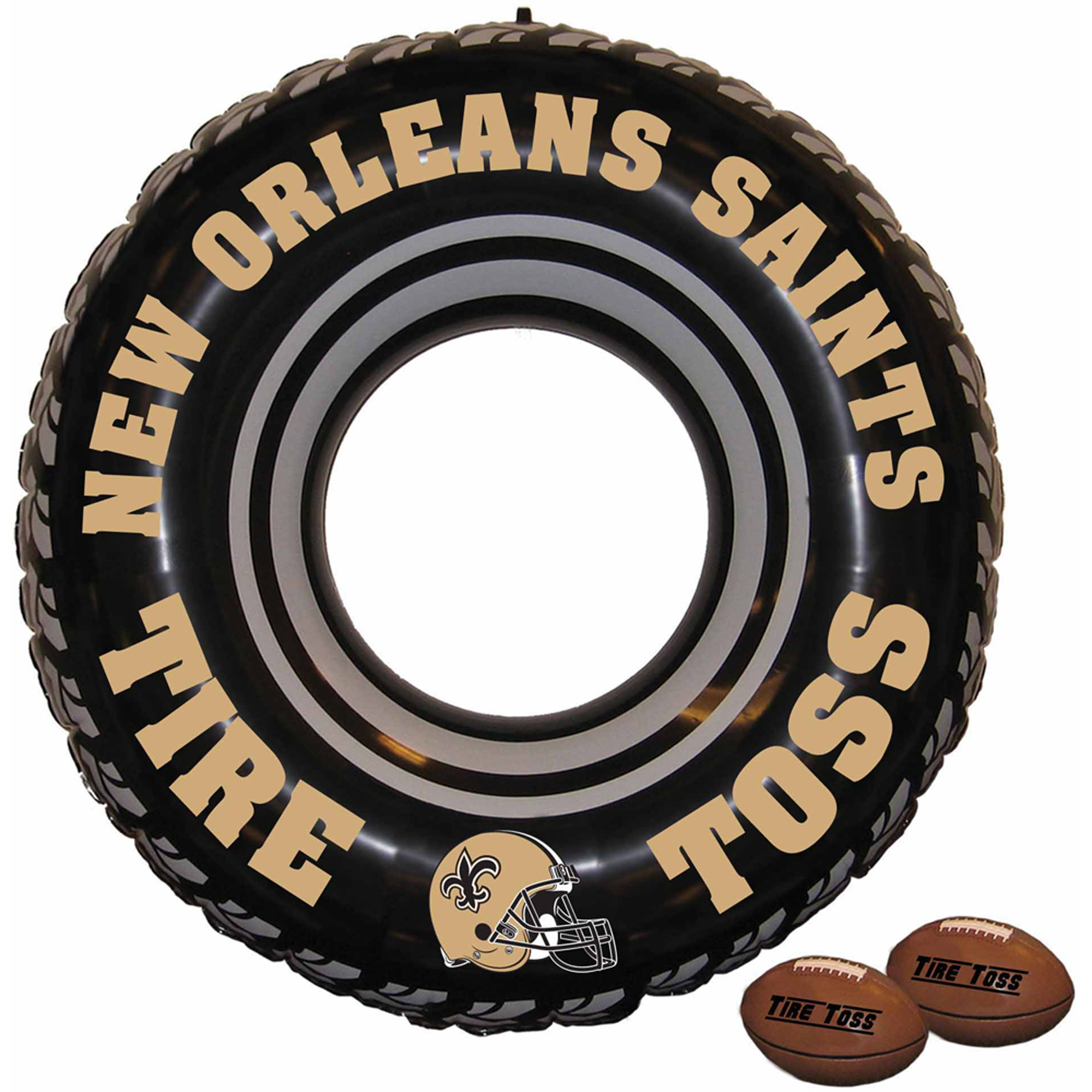 NFL New Orleans Saints Tire Toss