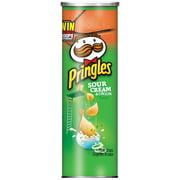 Pringles Sour Cream & Onion Potato Crisps Chips, 5.96 Oz