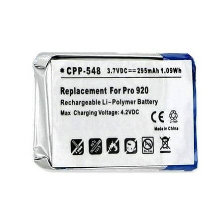 d9f03ded6c1 Jabra Pro 920 Wireless Headset Battery Li-Pol, 3.7 Volt, 295 mAh - Ultra  Hi-Capacity - Replacement for Jabra AHB5-2229PS Rechargeable Battery -  Walmart.com