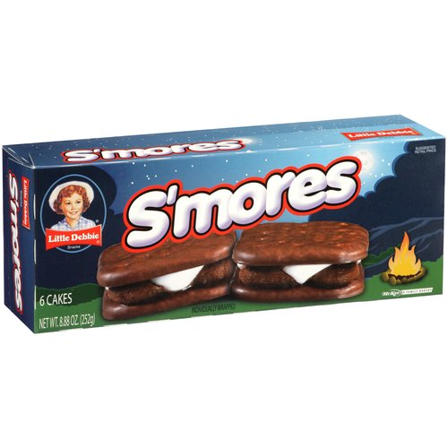 Little Debbie S'mores Cakes, 6 count