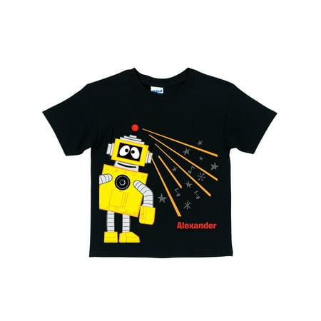 Personalized Yo Gabba Gabba! Plex Beam Boys' T-Shirt](Plex Yo Gabba Gabba)