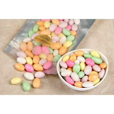 Assorted Jordan Almonds (1 Pound Bag)
