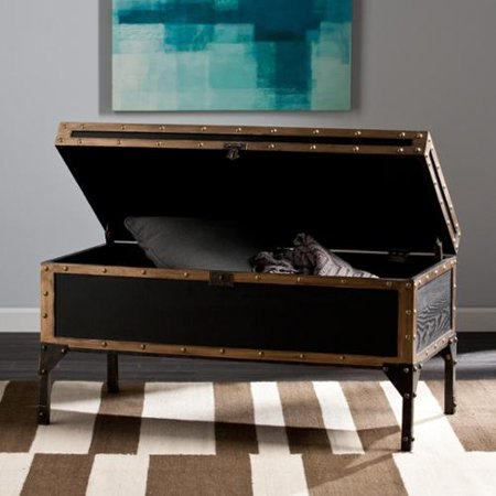 Harper Blvd Duncan Travel Trunk Cocktail Coffee Table