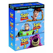 The Complete Toy Story Collection 1, 2, 3 [Blu-ray Box Set Disney] by
