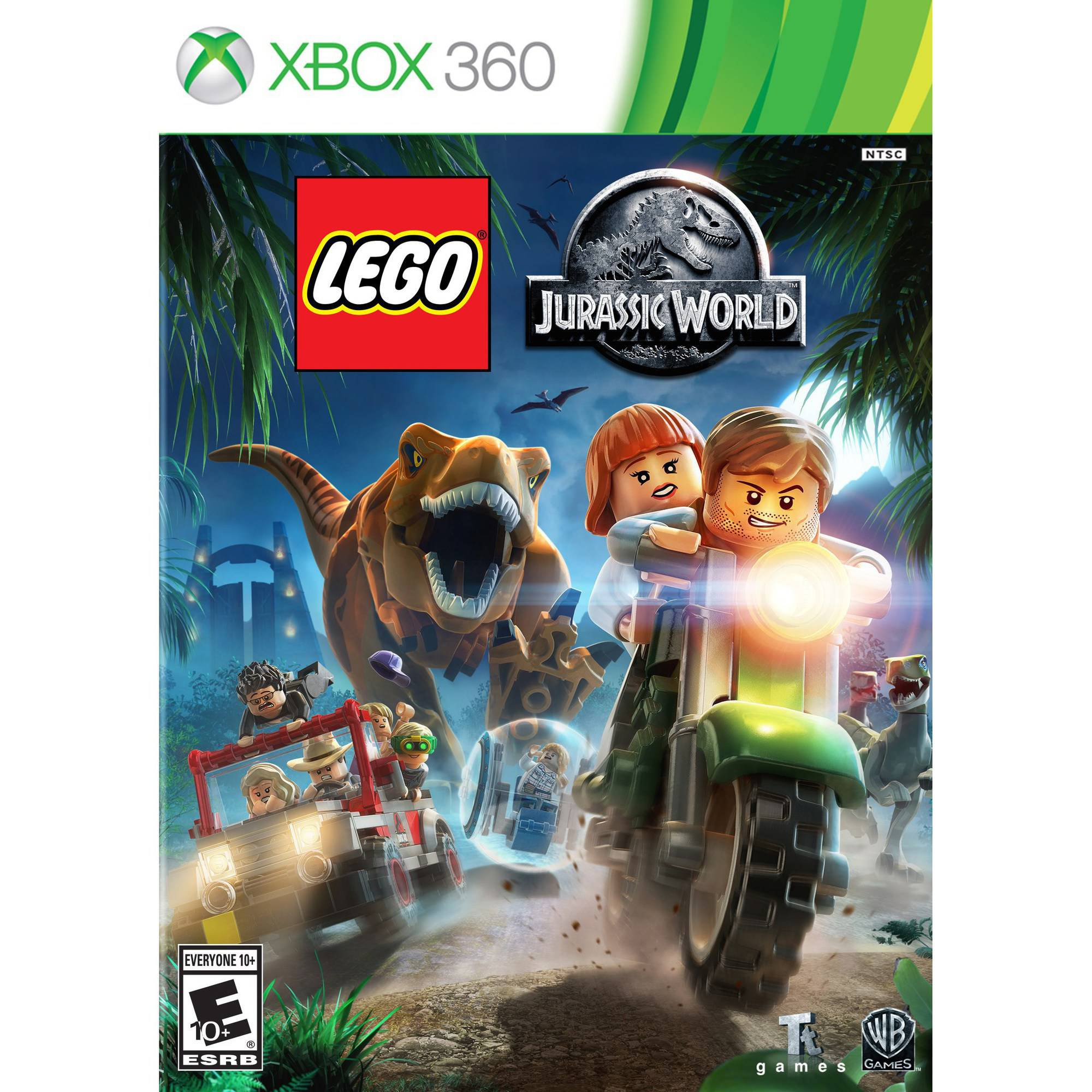 LEGO Jurassic World, Warner, Xbox 360, 883929472710