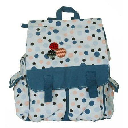 Date with Sun Fabric Art School Backpack Outdoor Daypack  Blue - image 1 of 1