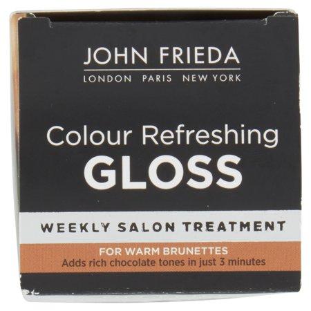 john frieda colour refreshing gloss for warm brunettes 6 fl oz box walmartcom - Color Refreshing Gloss