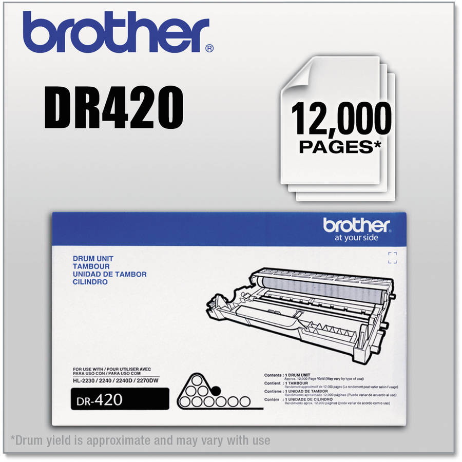Brother DR420 Black Drum Unit