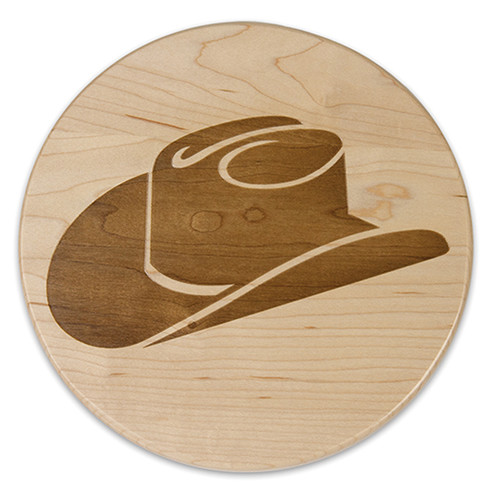 Martins Homewares Go West Cowboy Hat Trivet