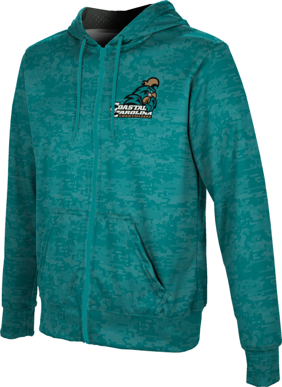 ProSphere Boys' Coastal Carolina University Digital Fullzip Hoodie