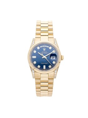 Pre-Owned Rolex Day-Date 118338 Watch (2-Year WatchBox warranty)
