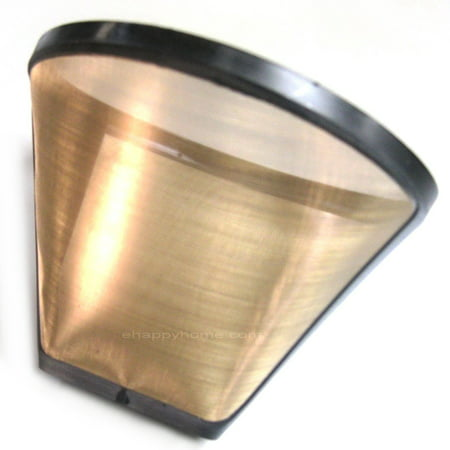 Gold Tone #2 Permanent Cone Coffee Filter, -