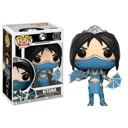FUNKO POP! GAMES: Mortal Kombat - Kitana - Mortal Kombat Props