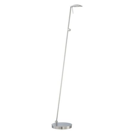 Pharmacy Mounted Task Lamp - George Kovacs Task Portables 1-Light Pharmacy Floor Lamp - Chrome