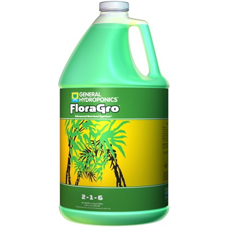 GENERAL HYDROPONICS (1) Gallon of FloraGro Liquid Plant Growth Formula | GH1423 (General Hydroponics Liquid)