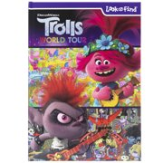 Dreamworks - Trolls World Tour Look and Find Activity Book - PI Kids