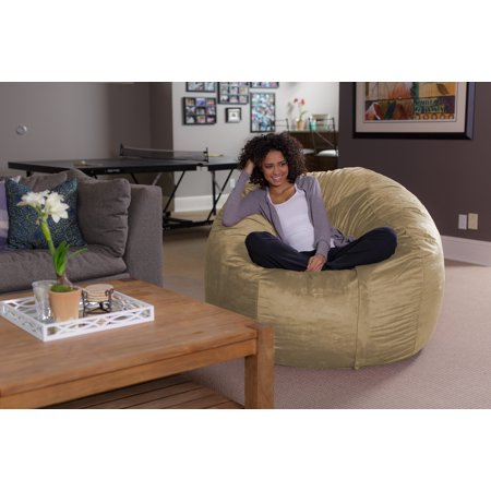 Sofa Sack 5 ft Bean Bag Chair, Multiple Colors ()