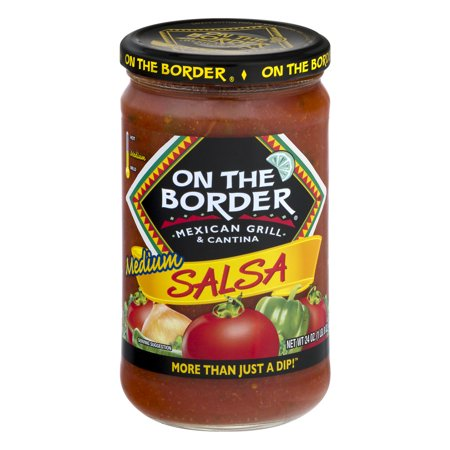 On The Border Original Medium Salsa, 24-Ounce