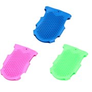 Cat Pet Grooming Gloves Pet Beauty Massage Hair Cleaning Bathing Gloves Silicone Dog Bath Massage Brush