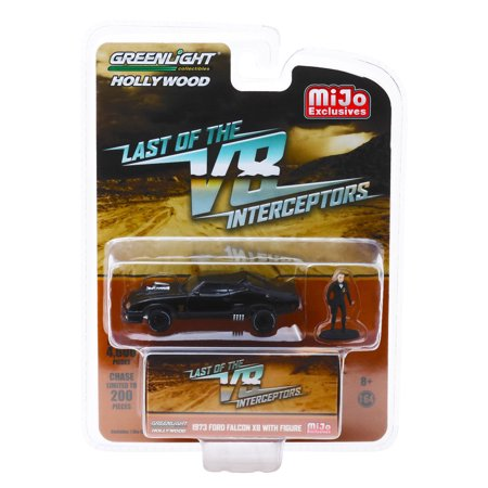 GREENLIGHT 1:64 HOLLYWOOD - THE LAST OF THE V8 INTERCEPTORS - 1973 FORD FALCON XB WITH FIGURE - MIJO EXCLUSIVES 51208