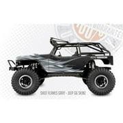 FreqEsKinz Grey Shot Flames Wrap Axial G6 Jeep FRQ15023