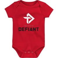 Toronto Defiant Infant Overwatch League Team Identity Bodysuit - Red