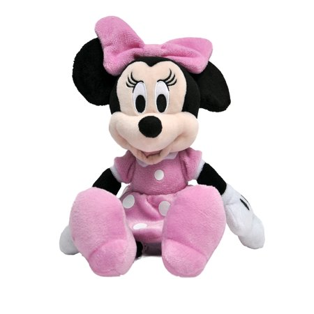 Minnie Mouse Plush Doll 11 Inches Pink - Cheerleader Minnie Mouse Doll