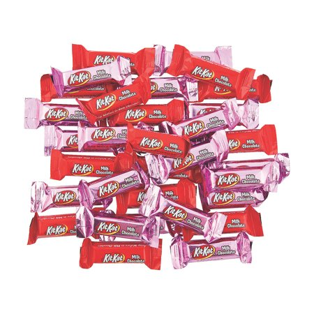 Fun Express - Valentine Kit Kat Miniatures for Valentine's Day - Edibles - Chocolate - Branded Chocolate - Valentine's Day - 35 -