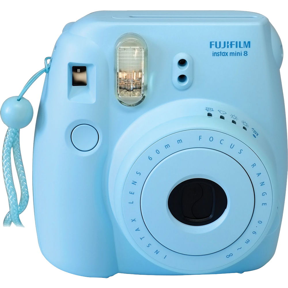 FujiFilm Blue 16273439 Instax Mini 8 Camera - Walmart.com