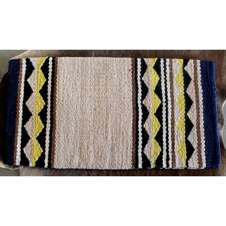 34x36 Horse Wool Western Show Trail SADDLE BLANKET Rodeo Pad Rug  3686
